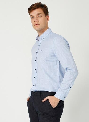 Pierre Cardin Pierre Cardin Mavi Erkek Gömlek Mavi